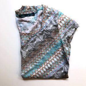 NWOT Prana t-shirt with pattern